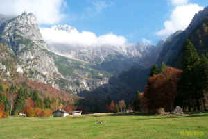 Vallon e Cime occidentali del Brenta da Val Algone, autunno